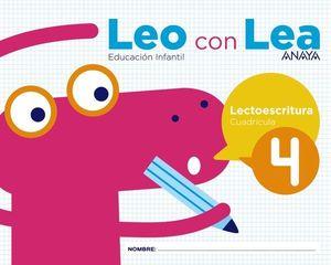 LEO CON LEA 4 CUADRICULA  ED. 2017