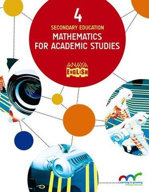 MATHEMATICS FOR ACADEMIC STUDIES 4º ESO