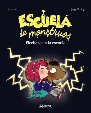 ESCUELA DE MONSTRUOS FLECHAZO EN LA ESCUELA
