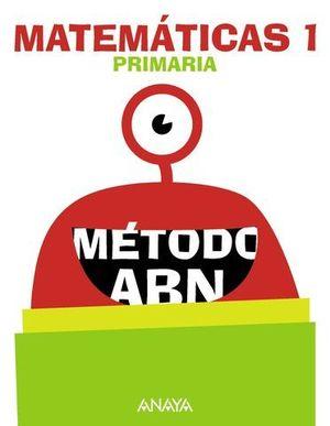 MATEMATICAS 1º EP ABN PIEZA A PIEZA ED. 2018