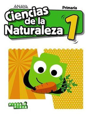 CIENCIAS DE LA NATURALEZA 1º EP PIEZA A PIEZA ED. 2018