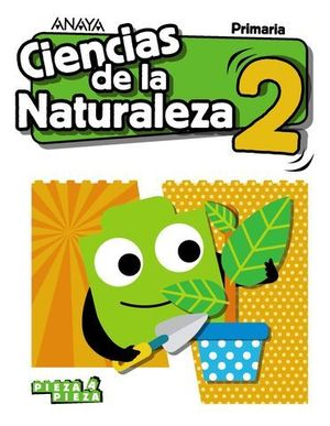 CIENCIAS DE LA NATURALEZA 2º EP PIEZA A PIEZA ED. 2018