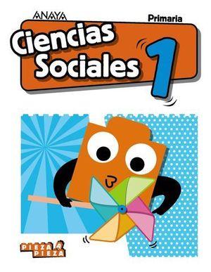 CIENCIAS SOCIALES 1º EP PIEZA A PIEZA ED. 2018