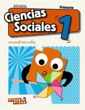 CIENCIAS SOCIALES 1º EP CUADRICULA PIEZA A PIEZA ED. 2018