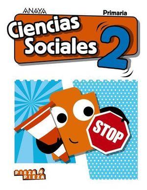 CIENCIAS SOCIALES 2º EP PIEZA A PIEZA ED. 2018