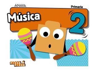MUSICA 2º EP PIEZA A PIEZA ED. 2018