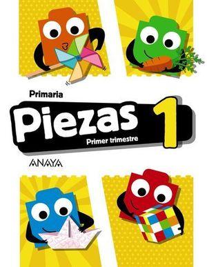 GLOBALIZADO PIEZAS 1º EP  1º TRIMESTRE PIEZA A PIEZA ED. 2018