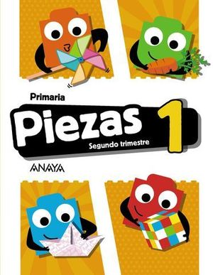 GLOBALIZADO PIEZAS 1º EP  2º TRIMESTRE PIEZA A PIEZA ED. 2018