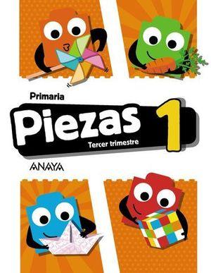 GLOBALIZADO PIEZAS 1º EP  3º TRIMESTRE PIEZA A PIEZA ED. 2018