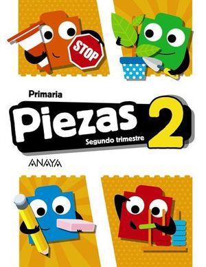 GLOBALIZADO PIEZAS 2º EP  2º TRIMESTRE PIEZA A PIEZA ED. 2018