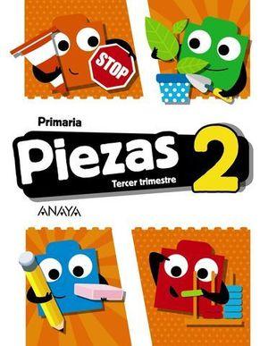 GLOBALIZADO PIEZAS 2º EP  3º TRIMESTRE PIEZA A PIEZA ED. 2018