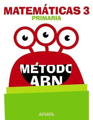 MATEMATICAS 3º EP ABN PIEZA A PIEZA ED. 2018