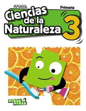 CIENCIAS DE LA NATURALEZA 3º EP PIEZA A PIEZA ED. 2018