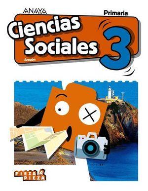 CIENCIAS SOCIALES 3º EP PIEZA A PIEZA ED. 2018