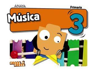 MUSICA 3º EP PIEZA A PIEZA ED. 2018
