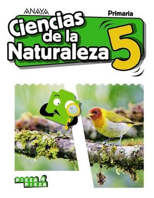 CIENCIAS DE LA NATURALEZA 5º EP PIEZA A PIEZA ED. 2018