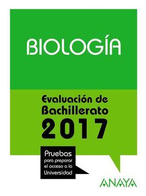SELECTIVIDAD 2017 BIOLOGIA