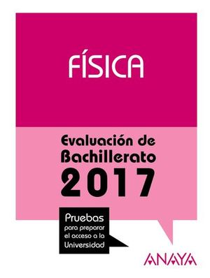 SELECTIVIDAD 2017 FISICA