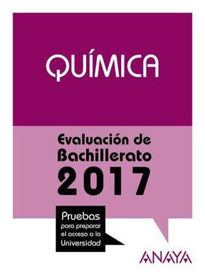 SELECTIVIDAD 2017 QUIMICA