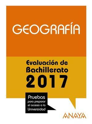 SELECTIVIDAD 2017 GEOGRAFIA
