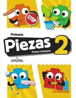 GLOBALIZADO PIEZAS 2º EP  1º TRIMESTRE PIEZA A PIEZA ED. 2018