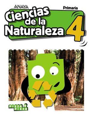 CIENCIAS DE LA NATURALEZA 4º EP PIEZA A PIEZA ED. 2019