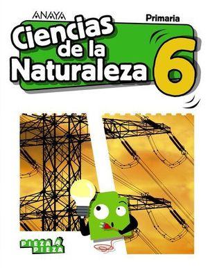 CIENCIAS DE LA NATURALEZA 6º EP PIEZA A PIEZA ED. 2019