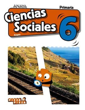 CIENCIAS SOCIALES 6º EP PIEZA A PIEZA ED. 2019