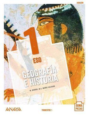 GEOGRAFIA E HISTORIA 1º ESO SUMA PIEZAS ED. 2020