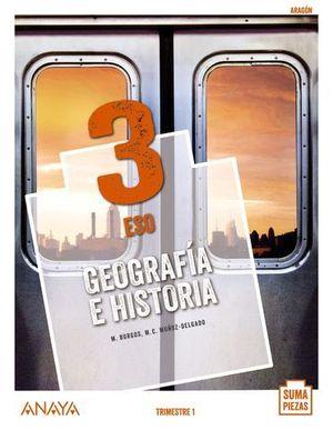 GEOGRAFIA E HISTORIA 3º ESO SUMA PIEZAS  ED. 2020