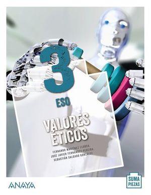 VALORES ETICOS 3º ESO SUMA PIEZAS ED. 2020