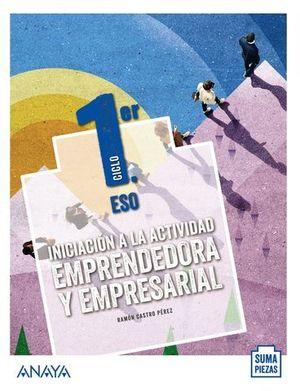 INICIACION A LA ACTIVIDAD EMPRENDEDORA Y EMPRESARIA SUMA PIEZAS ED.20
