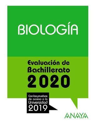 SELECTIVIDAD 2019 BIOLOGIA.  EVAU 2020