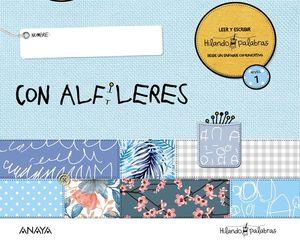 HILANDO PALABRAS 1. CON ALFILERES