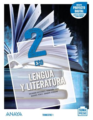 LENGUA Y LITERATURA 2. (TRIMESTRES) + TALLER COMPRENSIÓN ORAL