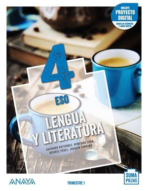 LENGUA Y LITERATURA 4. (TRIMESTRES) + TALLER COMPRENSIÓN ORAL