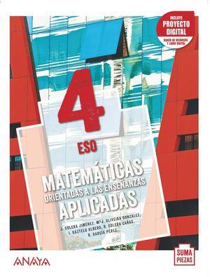 MATEMÁTICAS ORIENTADAS A LAS ENSEÑANZAS APLICADAS 4.
