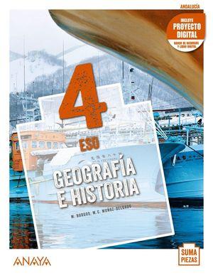GEOGRAFÍA E HISTORIA 4. + DUAL FOCUS.