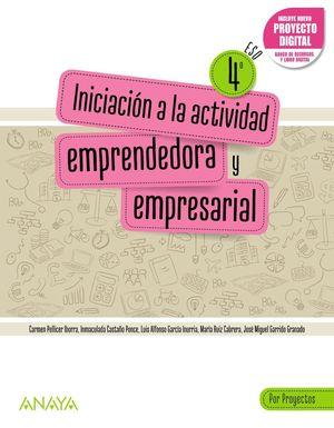 INICIACIÓN A LA ACTIVIDAD EMPRENDEDORA Y EMPRESARIAL 4. POR PROYECTOS.