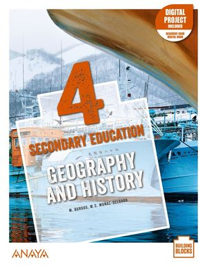 GEOGRAPHY AND HISTORY 4. STUDENT'S BOOK + DE CERCA