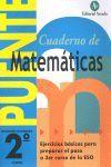 CUADERNO PUENTE DE MATEMATICAS 2º ESO