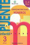 CUADERNO PUENTE INFANTIL NUMEROS 3 AÑOS