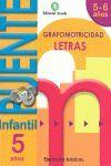 CUADERNO PUENTE INFANTIL LETRAS 5 AÑOS