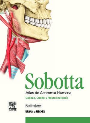 ESTUCHE SOBOTTA  ATLAS DE ANATOMIA HUMANA ( 3 VOL. + TABLAS )