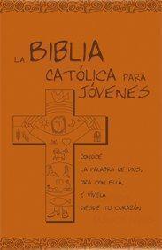 BIBLIA CATOLICA PARA JOVENES ED. AZUL POLIPIEL NARANJA