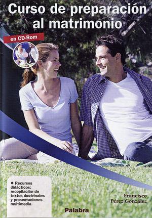 CURSO DE PREPARACION AL MATRIMONIO CD-ROM