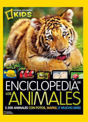 ENCICLOPEDIA DE LOS ANIMALES.  NATIONAL GEOGRAPHIC KIDS