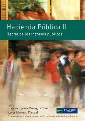 HACIENDA PUBLICA II TEORIA DE LOS INGRESOS PUBLICOS