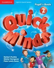 QUICK MINDS 2 PUPIL´S BOOK  ED. 2014