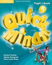 QUICK MINDS 5 PUPIL´S BOOK  ED. 2014